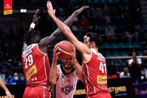 Basket, VL ko a Bologna. L'amarezza del giorno dopo