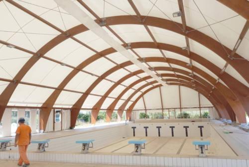 Falconara, completati i lavori alla piscina comunale: sabato l'inaugurazione