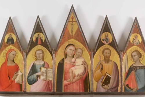 Una mostra su Allegretto Nuzi allestita nella Pinacoteca civica di Fabriano