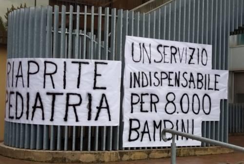 Riaprire Pediatria all'ospedale Engles Profili di Fabriano, presidio di protesta
