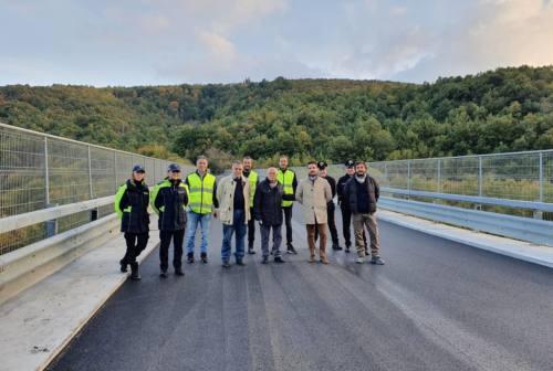 Cingoli, riaperto il viadotto Castreccioni. «Interventi per oltre 4 milioni»