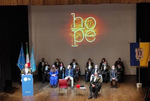 Università di Urbino inaugurazione anno accademico, Calcagnini: «Ripartenza e questione investimenti legata alla vendita dei collegi»