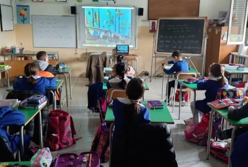 Appignano del Tronto, bambini della scuola primaria a lezione di ambientalismo e riciclo dei rifiuti