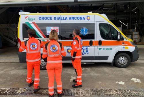 Ancona, dal cantiere navale una raccolta fondi per la nuova ambulanza della Croce Gialla