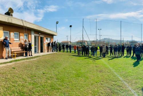 Ostra Calcio, una panchina e una targa per Nando Benarrivo