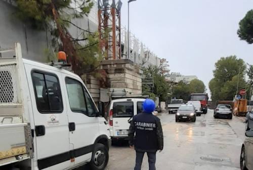 Pesaro, violazioni alle norme di sicurezza: sospeso il cantiere del vecchio palas