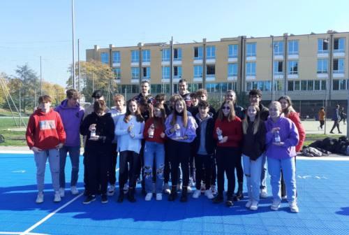 Jesi, metti una mattina a scuola con due Campioni d'Europa: Giannelli e Ricci fra Leopardi e Liceo Scientifico