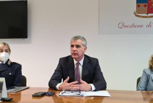 Pallini ai saluti, il Questore lascia Ancona e va a Bolzano: «Meno 32% di delitti negli ultimi due anni»