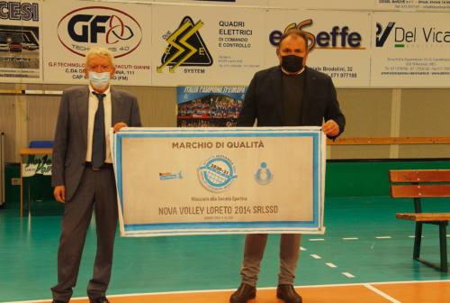 Pallavolo, La Nova Volley Loreto ha acceso le luci sulla stagione