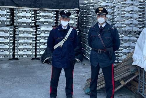 Fano, rubate 300 tonnellate di alluminio alla Profilglass: erano finite a Brescia. Tre denunce