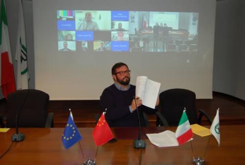 Export, siglato protocollo per salone espositivo permanente all'Hainan Design Week. Carloni: «Visibilità per le imprese»