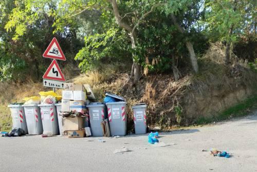 Jesi, rifiuti abbandonati in via Santa Lucia: i residenti invocano le fototrappole