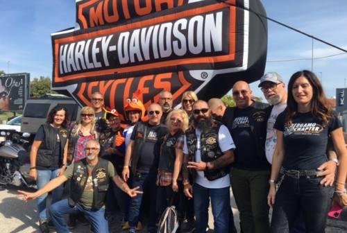 """""""Run del Picchio"""", la carica dei 300 Harleysti per l'evento ufficiale della Chapter Route 76 Italy"""