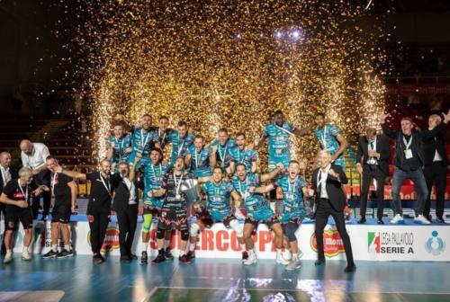 Pallavolo, a Civitanova nel weekend la Supercoppa maschile