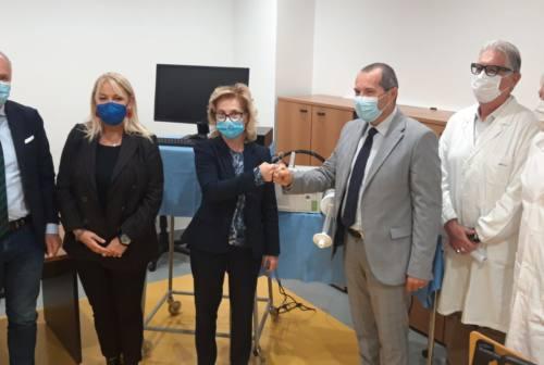 Carlo Urbani di Jesi, un nuovo spirometro donato dalla BCC di Ostra e Morro d'Alba alla sanità del territorio