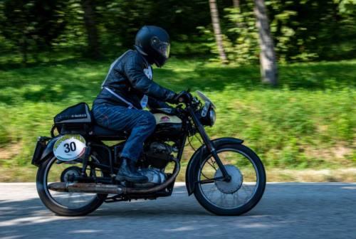 Il Motogiro d'Italia fa tappa ad Ascoli: partecipanti da tutto il mondo