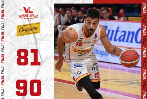 Basket, la VL cade in casa contro Tortona per 81-90